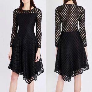 NWT! Maje Rana eyelet lace dress asymmetrical hem